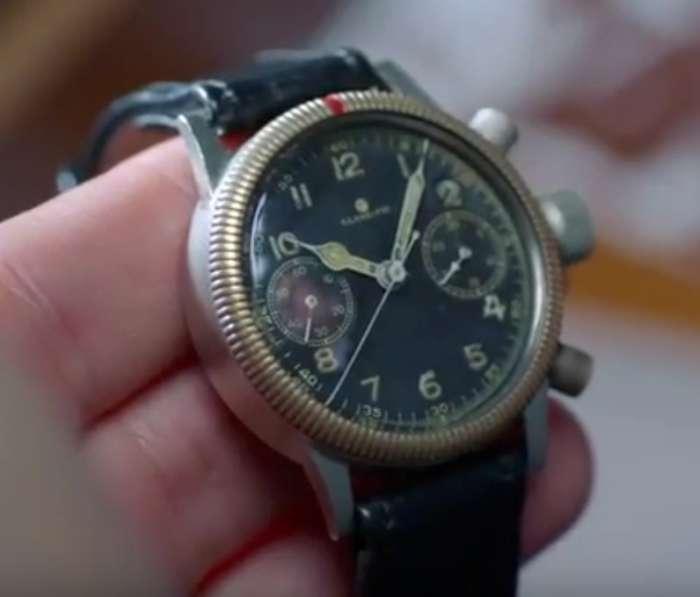 Tutima 1941 Flieger flyback chronograph