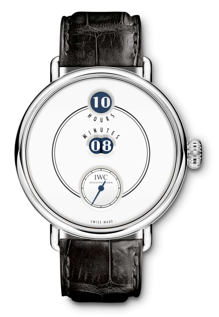 IWC Tribute to Pallweber Edition 150 Years, reference 505001