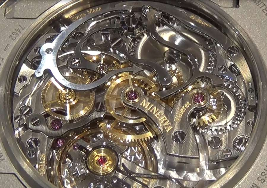 Montblanc 1858 Pocket Watch Limited Edition 100