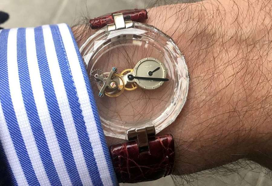 Phantom Flying Tourbillon by Vincent Calabrese