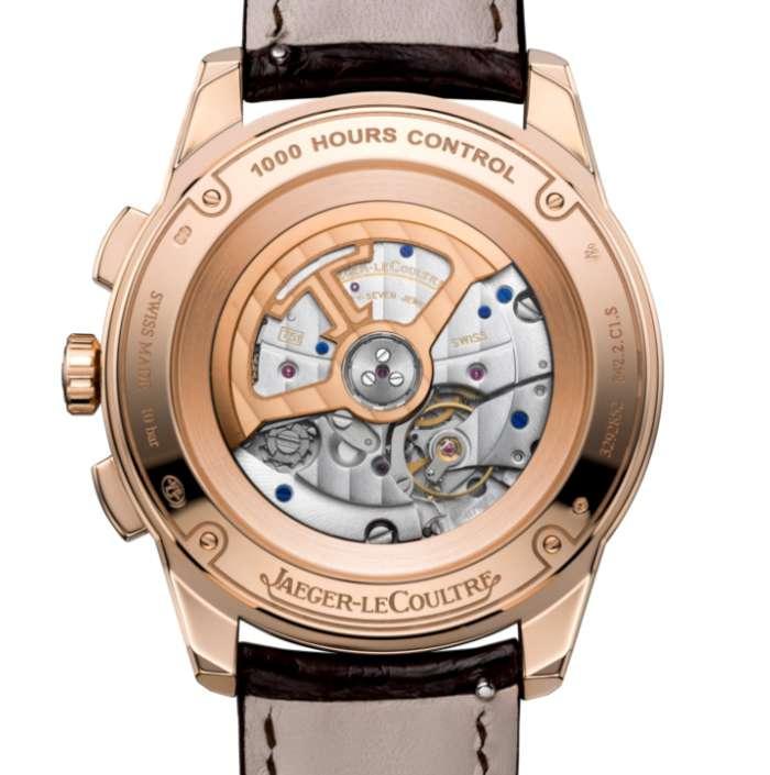 Jaeger-LeCoultre Polaris Chronograph rose gold caseback