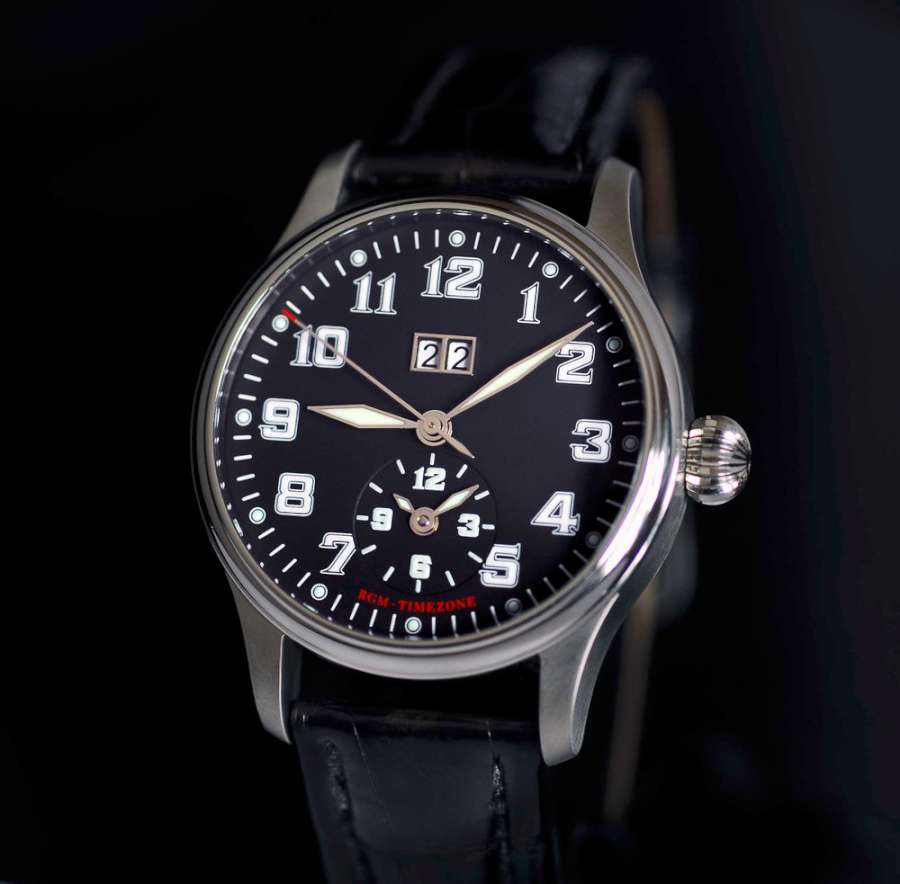 RGM 350-TZBD Time Zone Big Date