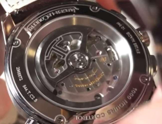 Jaeger-LeCoultre Polaris Chronograph WT caseback