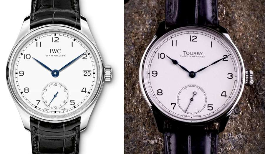 IWC Portugieser Hand-Wound Eight Days and Tourby Marine 43