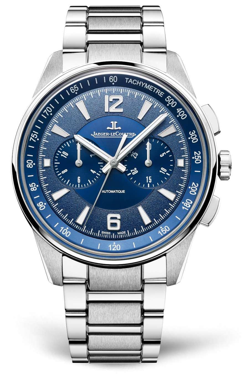 Jaeger-LeCoultre Polaris Chronograph blue dial