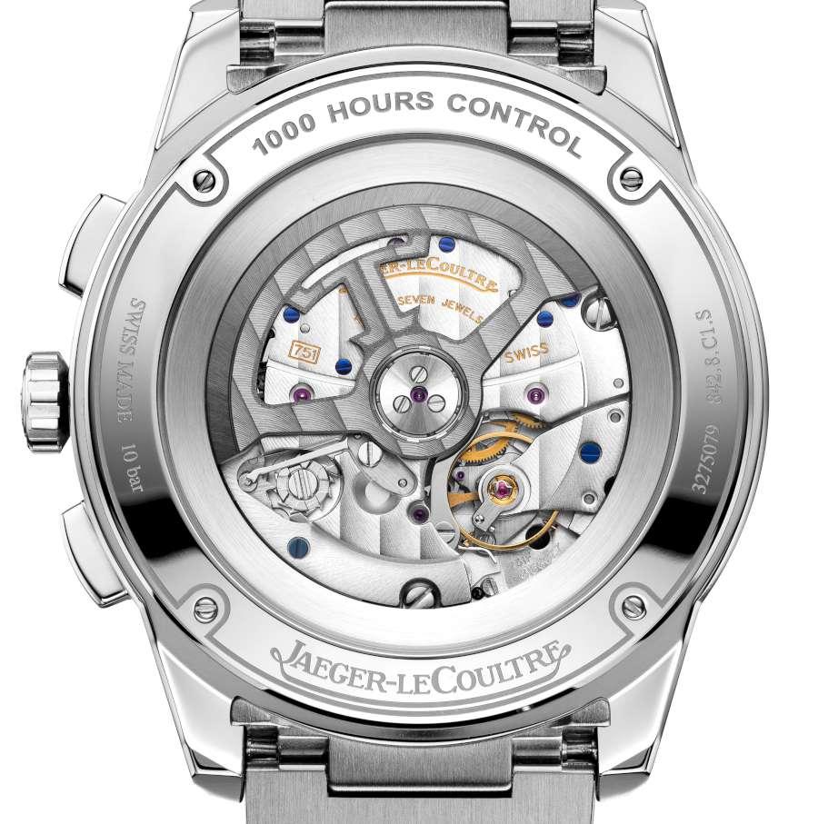 Jaeger-LeCoultre Polaris Chronograph dial detail