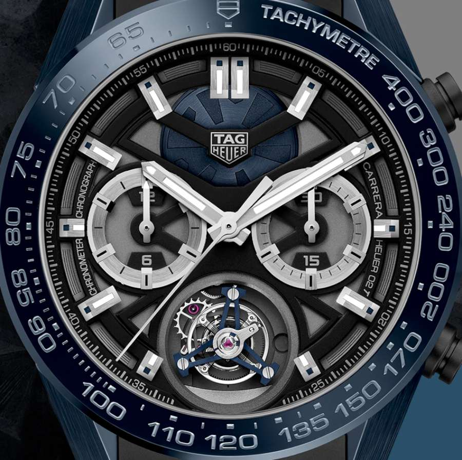 TAG Heuer Carrera Tête de Vipère Chronograph Tourbillon Chronometer