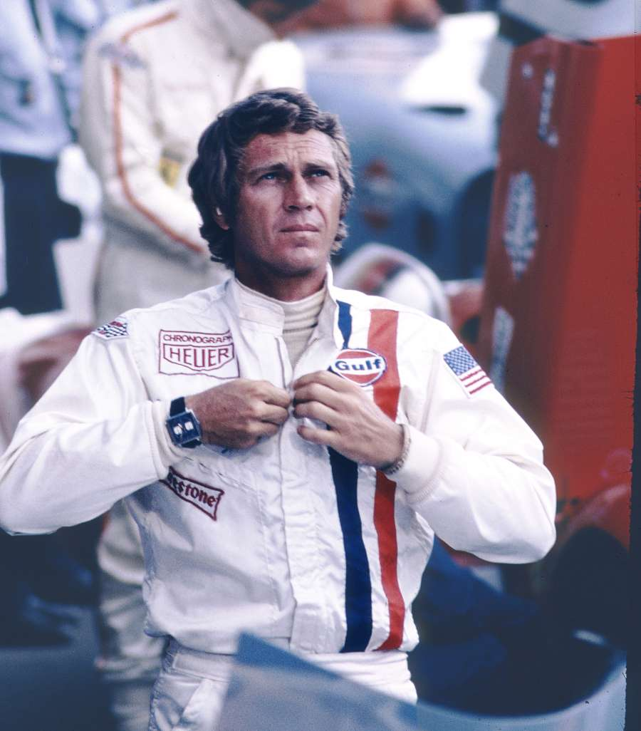 _Steve McQueen in the film LeMans, 1971