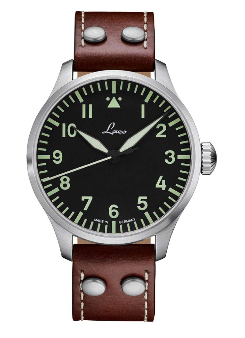 Laco Augsburg 42 pilot's watch