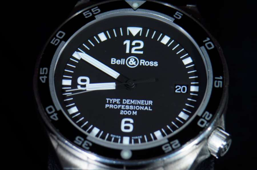 Bell & Ross Type Démineur, photo courtesy of forums.watchuseek.com