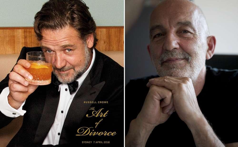 Russell Crowe and Giuliano Mazzuoli