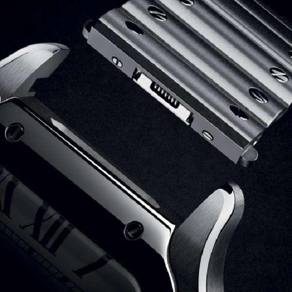 Santos de Cartier strap change