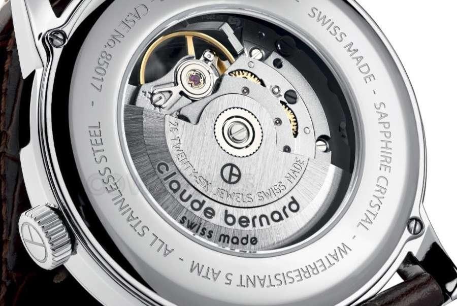 Claude Bernard Classic Automatic 85017-3-AR caseback