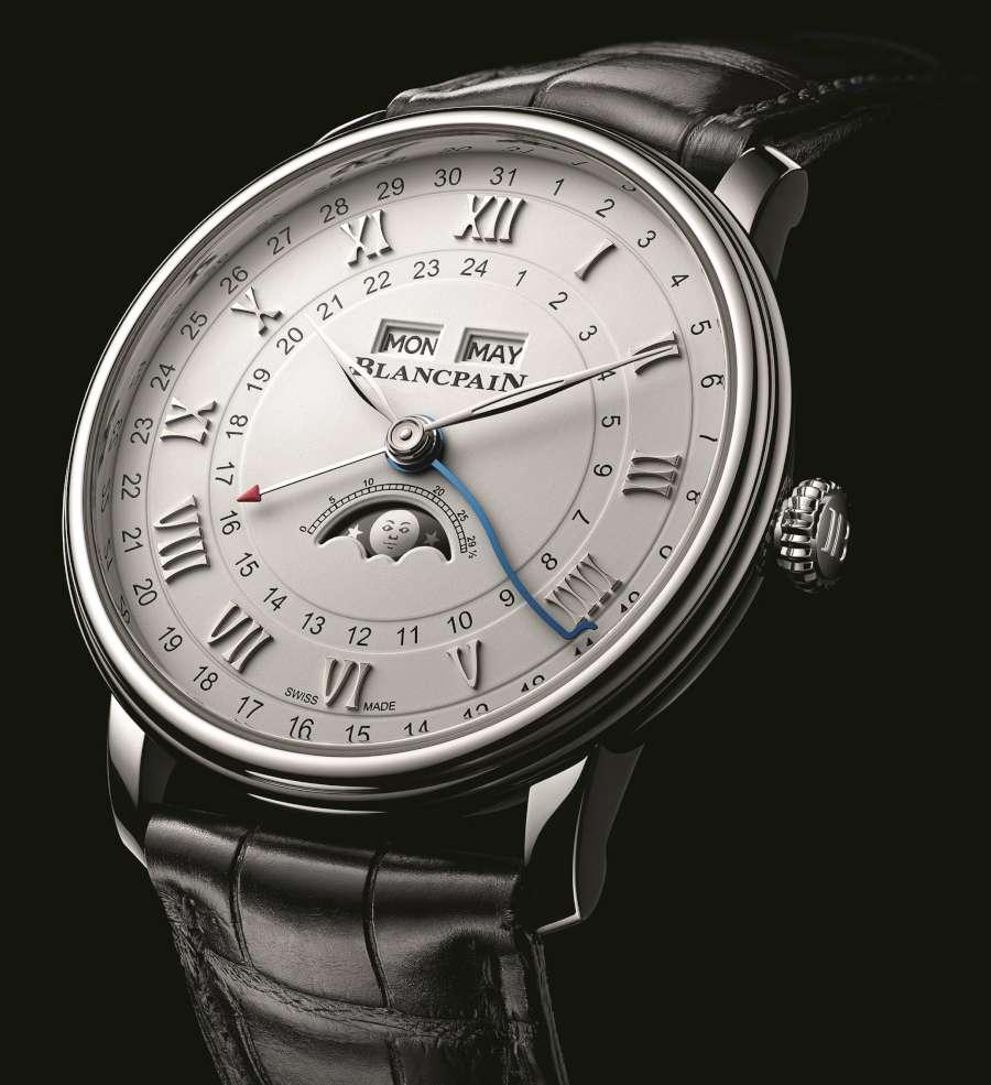 Blancpain Villeret Quantième Complet GMT 6676-1127-55B