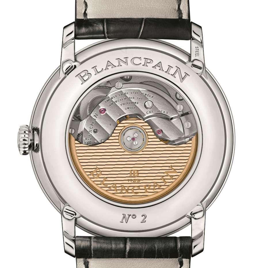 Blancpain Villeret Quantième Complet GMT 6676-1127-55B caseback