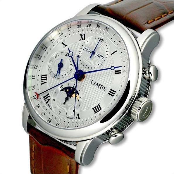 Limes Pharo Chronograph complete calendar three-quarter