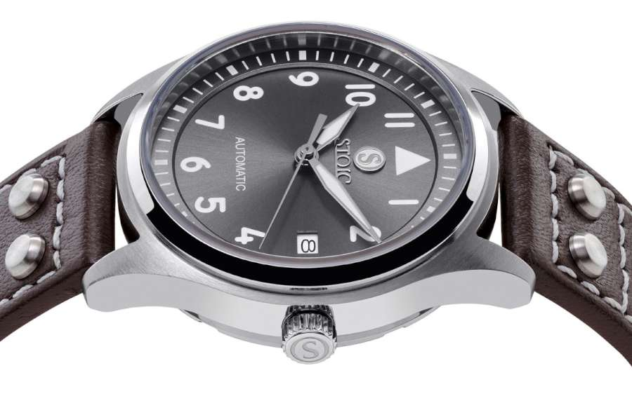 Stoic World pilot's watch by Peter Speake-Marin