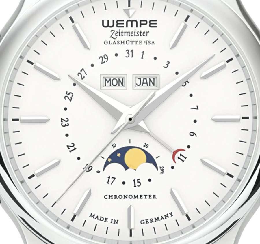 Wempe Zeitmeister Full Calendar WM350001 detail