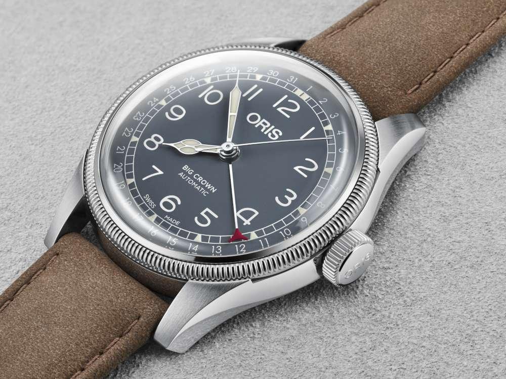Oris Big Crown Pointer Date vintage style watch 01 754 7741 4065-07 5 20 63