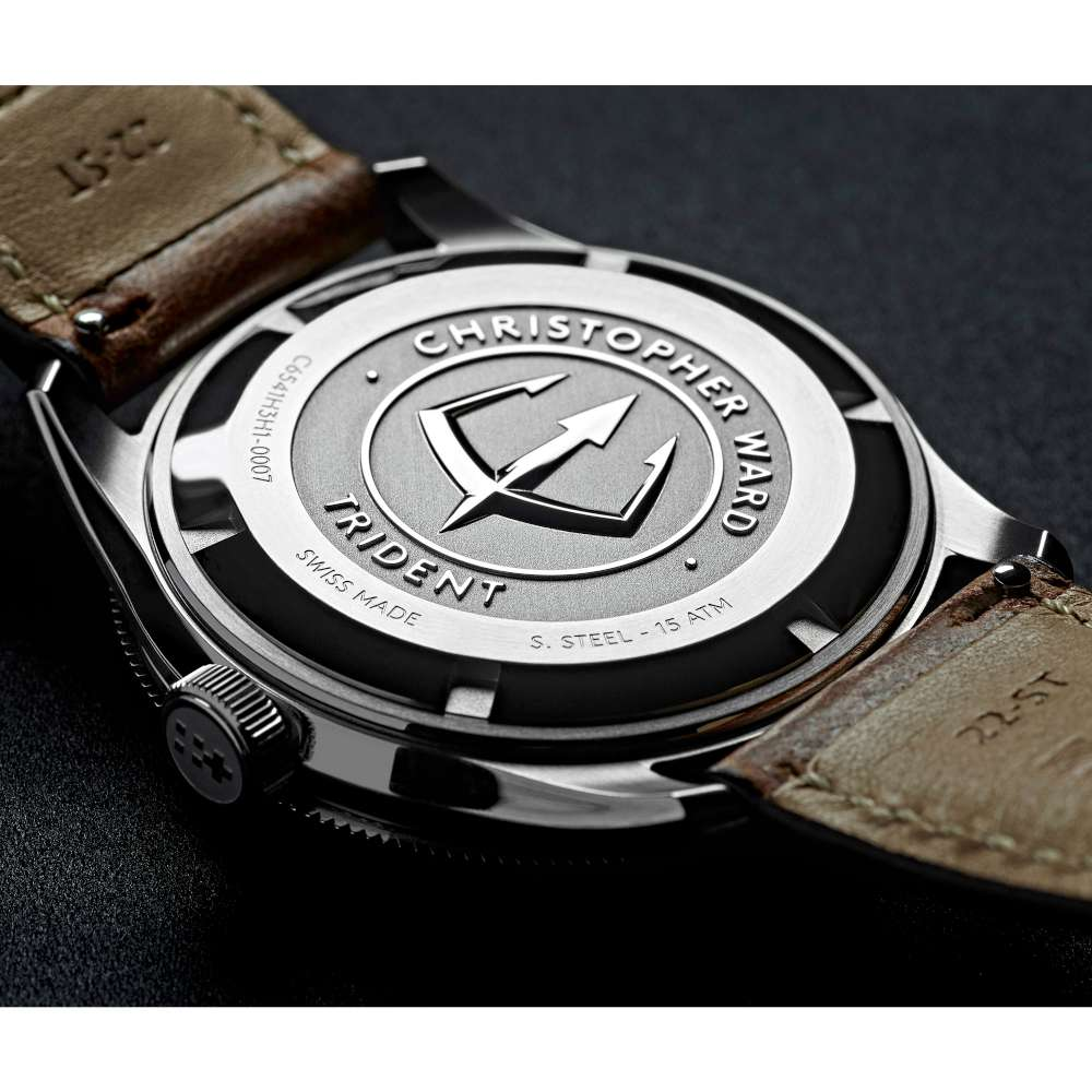 Christopher Ward C65 Trident DiverC65-41H3H1-S0BB0-VC vintage style watch