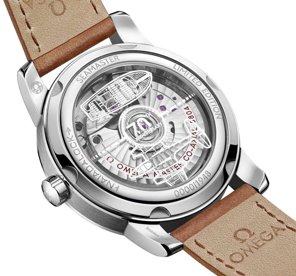 Omega Seamaster 1948 511.12.38.20.02.001 caseback vintage style watch