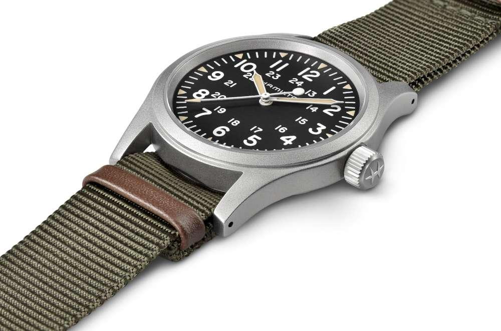 Hamilton H69429931 Khaki Field Mechanical vintage style watch