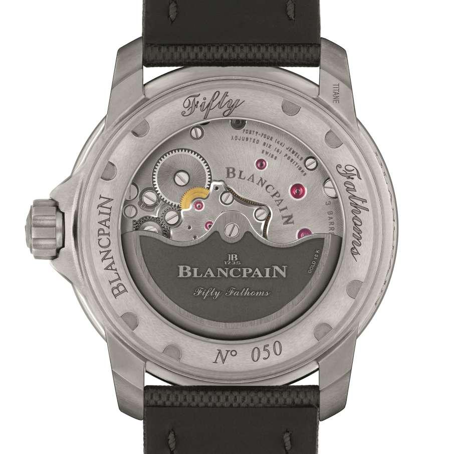 Blancpain Fifty Fathoms Grande Date caseback