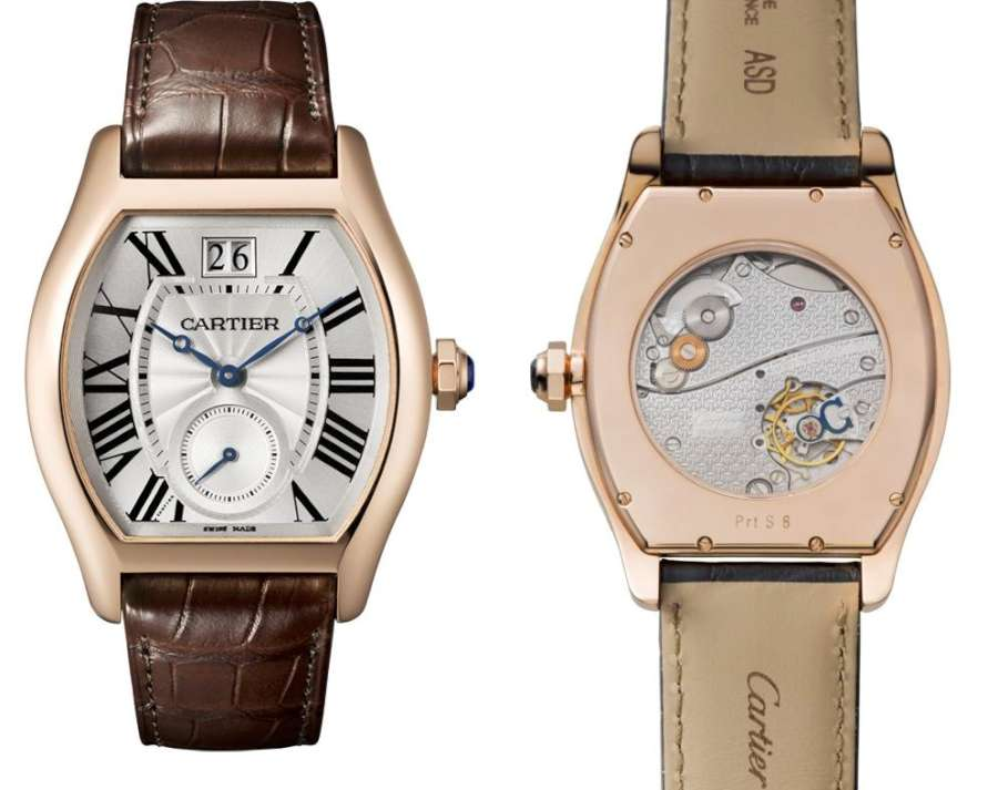Cartier Tortue Large Date Small Seconds