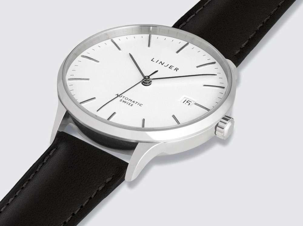 Linjer Automatic bright steel
