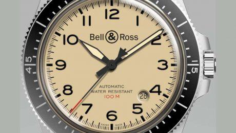 Bell & Ross Military Beige BR V2-92 Nato strap