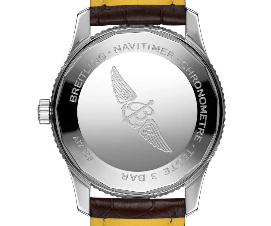 Breitling Navitimer 1 automatic 41 caseback