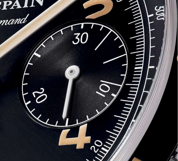 Blancpain Air Command dial detail-W750