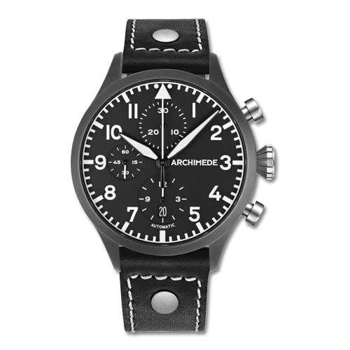 Archimede Pilot Chronograph AZ LS