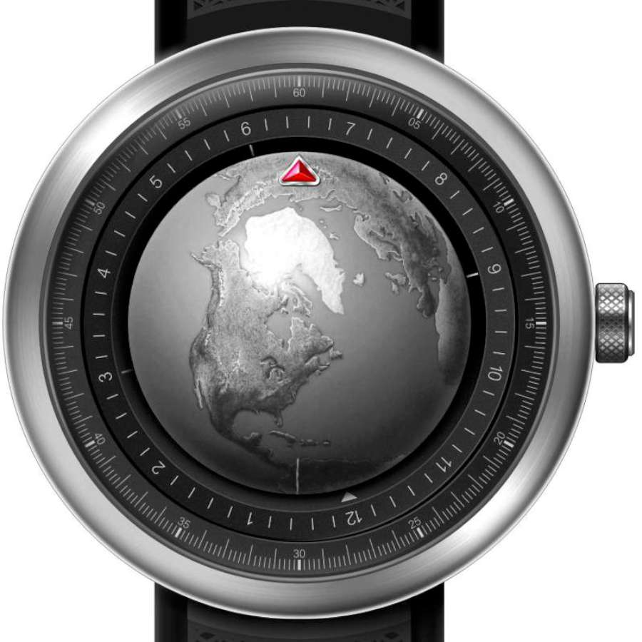 GPHG 2019 Ciga Design Single-Hand Mechanical Wristwatch Series Globe