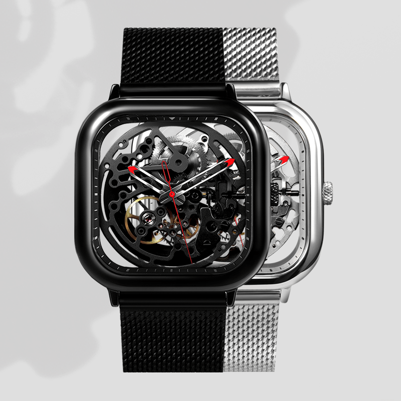 xiaomi ciga design skeleton watch two versions