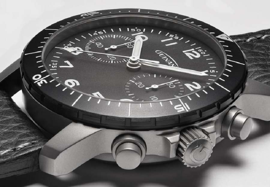 Guinand Starfighter Pilot Chronograph pilots watch