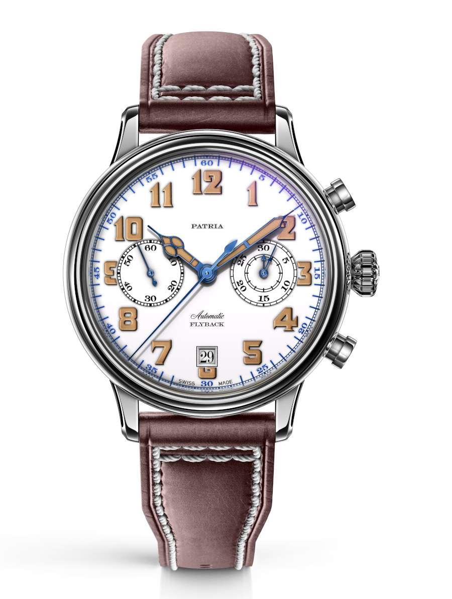 Patria Brigadier Chrono military chronograph