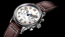 Patria Brigadier Chrono P16BR0301S Three Quarter View
