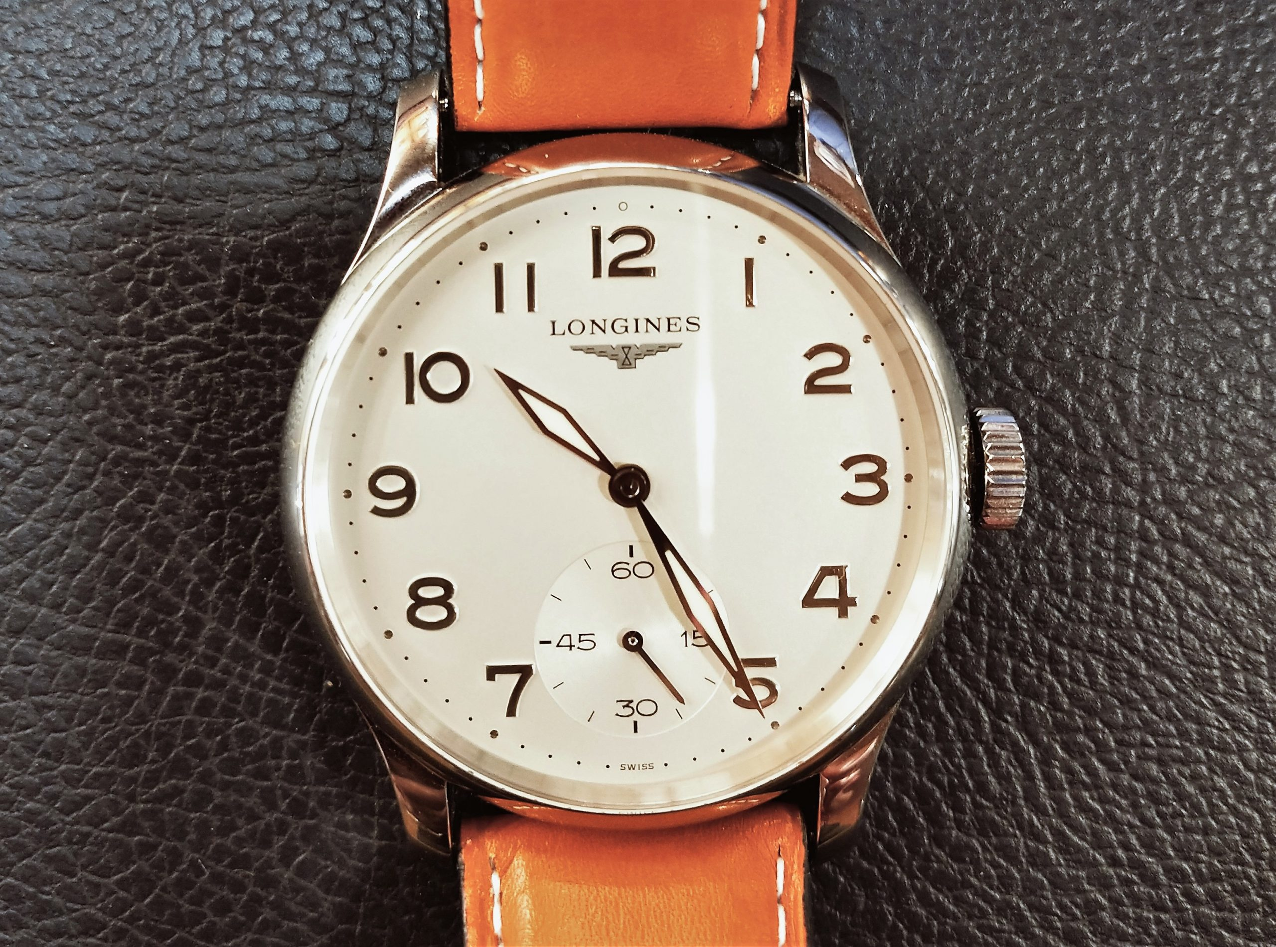 Longines Master Collection Avigation L2.640.4 dial