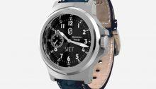 SIET 49 Meccanica Firenze hand wound pilots watch