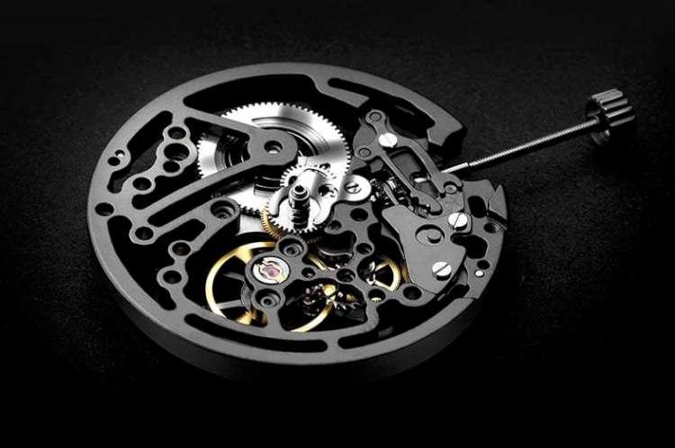 CIGA Design Full Hollow skeleton watch Seagull ST1646K-AAA caliber