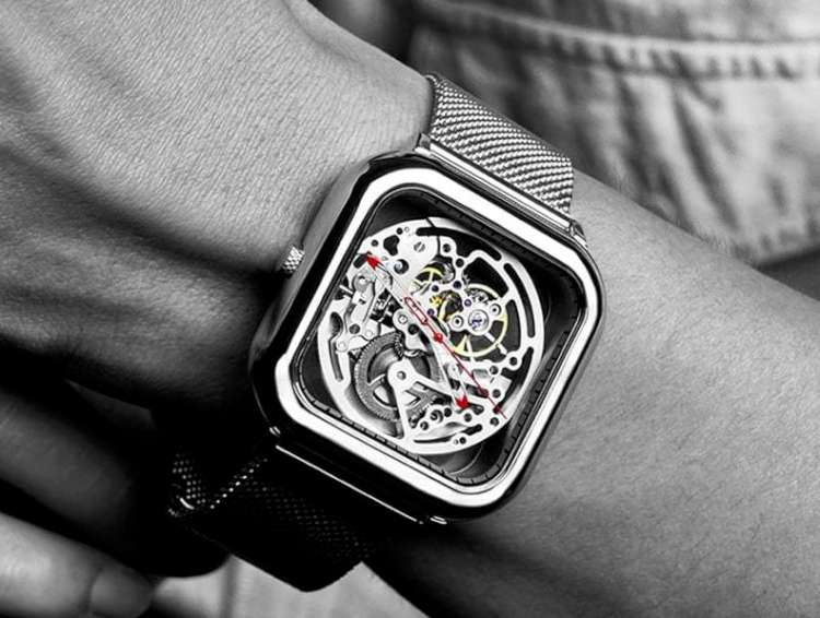CIGA Design Full Hollow skeleton watch