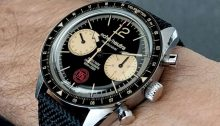 echo/neutra Cortina 1956 chronograph watch