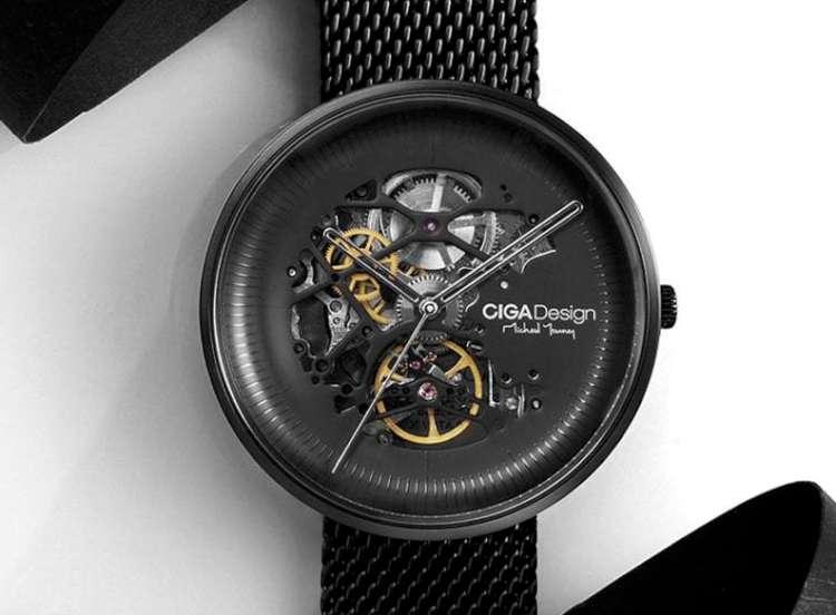 CIGA Design MY Michael Young series skeleton wristwatch