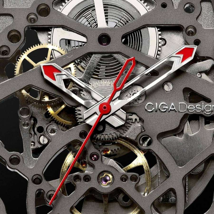 CIGA Design Z Series Automatic Mechanical Skeleton Wristwatch