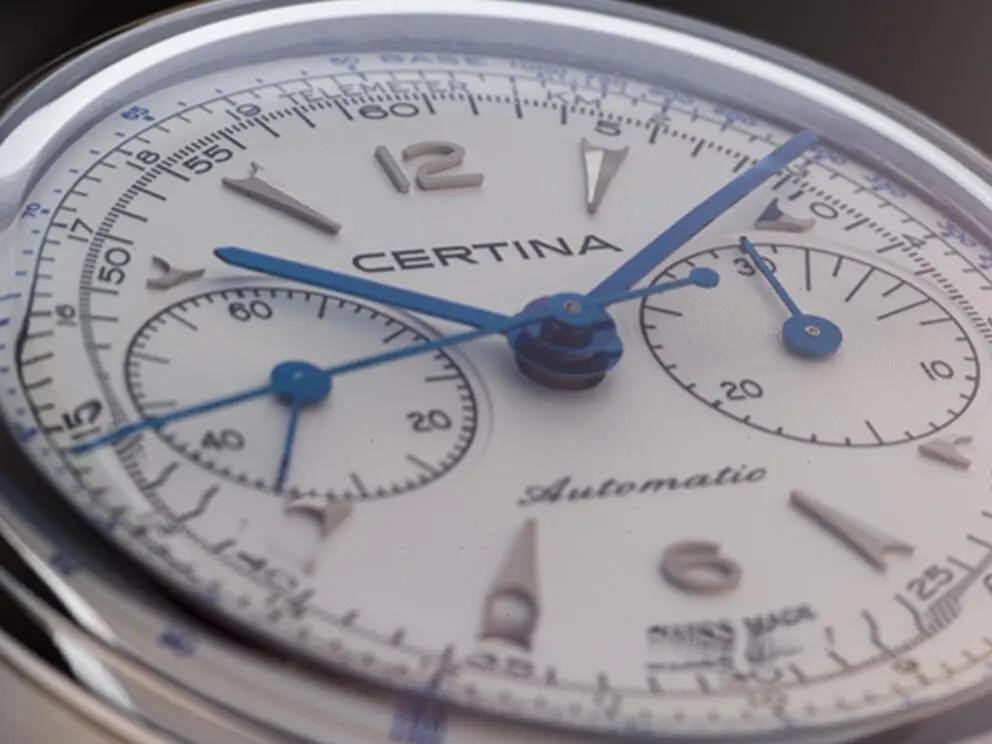 Certina DS Chronograph Automatic telemeter scale