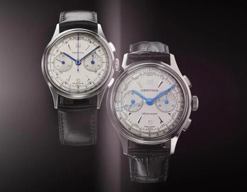 Certina DS Chronograph Automatic and historic precedent