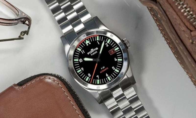Fortis Flieger F-41 Automatic bracelet