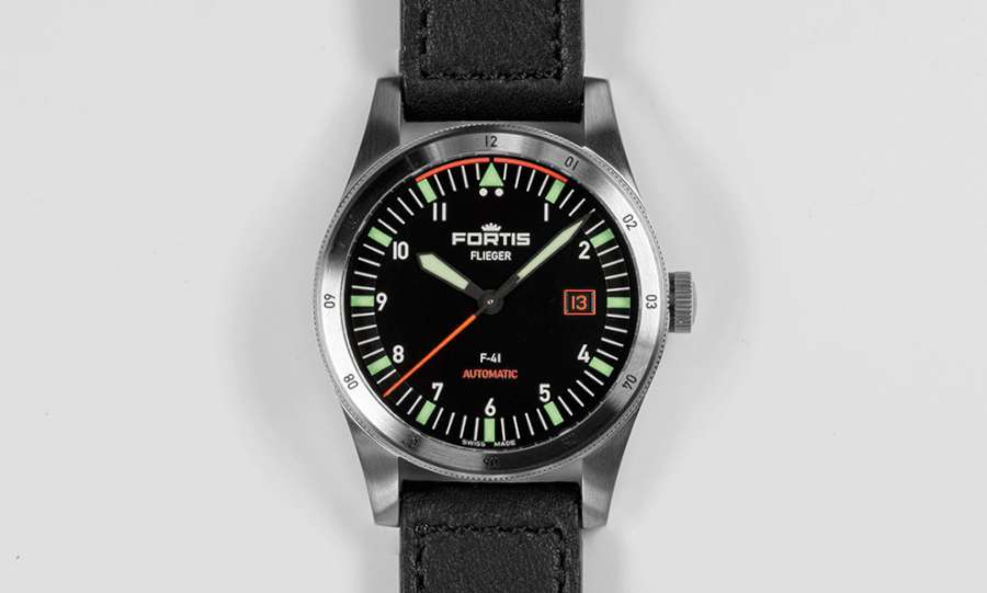 Fortis Flieger F-41 Automatic front