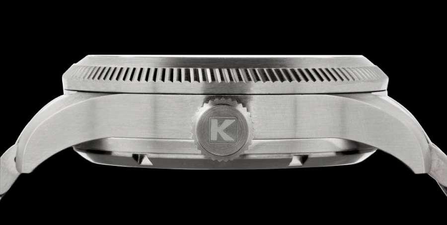 Kienzle Pilotimer KM-419 crown
